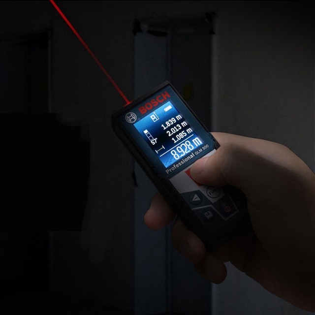 BOSCH Laser Range Finder 25/30/40/50/70 Meters Electronic Infrared Volume Room Ruler High Precision Measuring Instrument 3