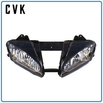 цена на CVK Motorcycle Headlight Headlamp Head Light For YAMAHA YZF 600 R6 2006 2007 YZF-R6 06-07 Head Lamp Headlight assembly