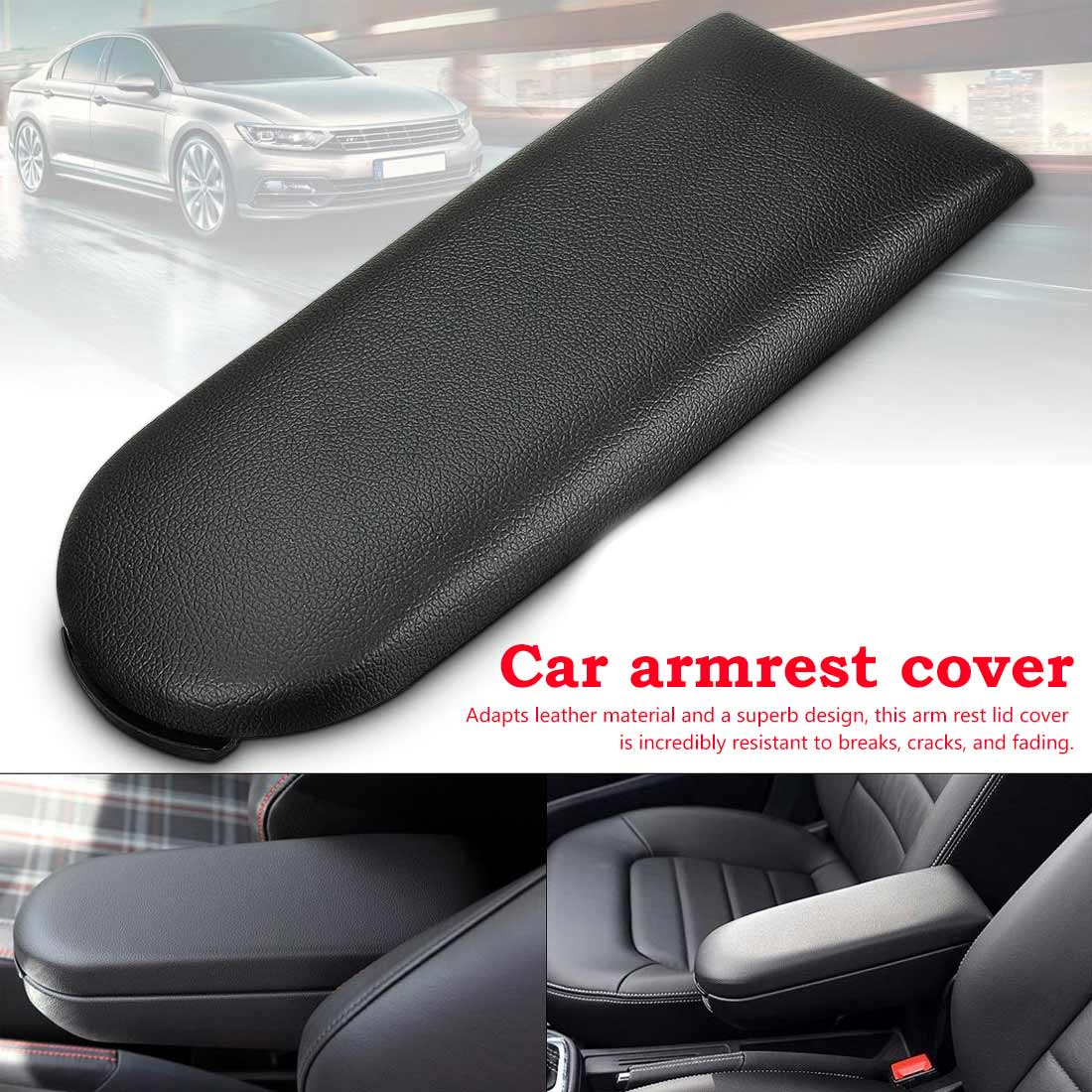 Applicable For Volkswagen VW Polo Sedan 2010 2011 2012 2013 2014 2015 Central Auto Car Armrest Box Cover Console Lid