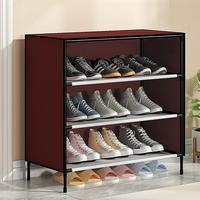 Dustproof monte o armário moderno simples da sapata da cremalheira das sapatas para o armazenamento doméstico