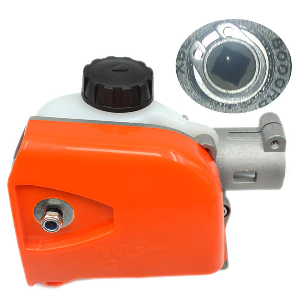 4 Spline High Hardness Gearbox Agricultural Durable Practical Aluminum Chainsaw Part Sturdy Replacement Forestry Easy Install