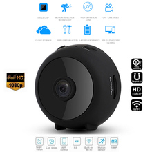 Wifi IP mini Camera Full HD 1080P Camera Infrared Night Vision Micro Camera Motion Detection Camera Supports Concealed TF Card