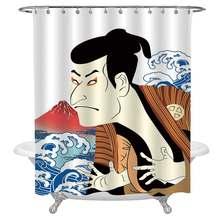 Маска kabuki декоративная душевая занавеска для современного