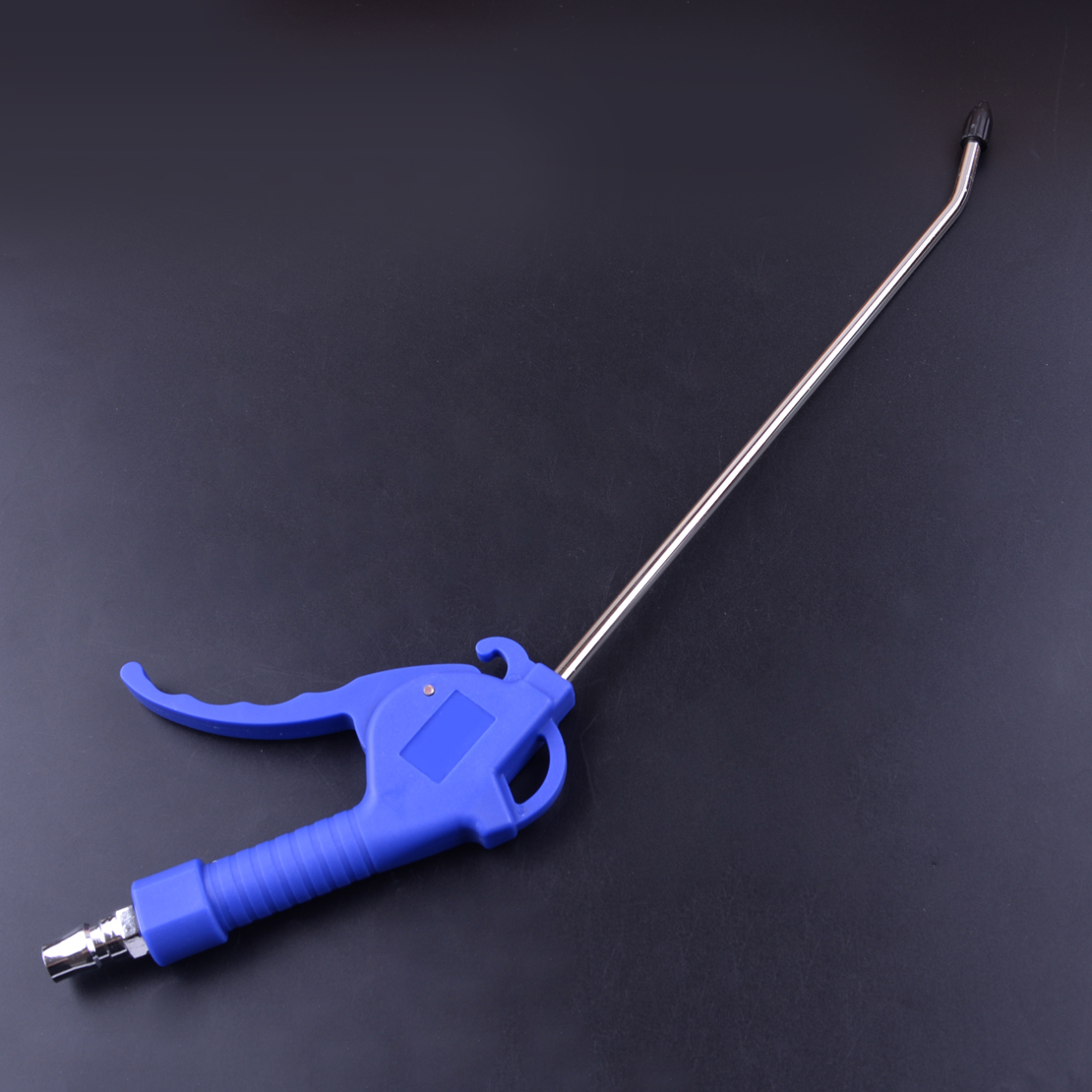2 Mm Blue Handle Offset Tip Angle Nozzle Duster Cleaner Air Blow Pistol Grip Dust Blower Tool For Cleaning Machine Equipment