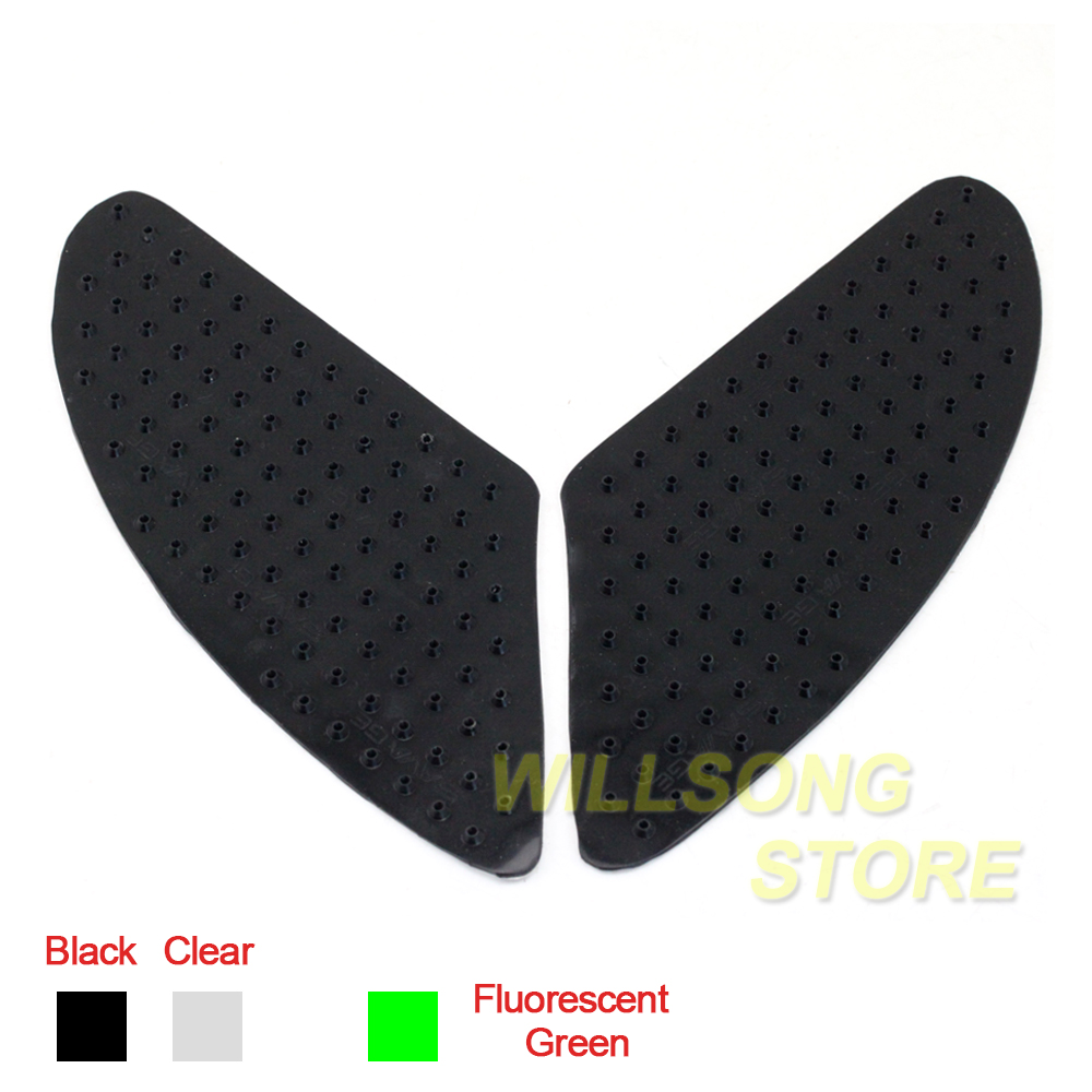 Anti Slip Sticker Tank Pad Side Knee Grip Protector For HONDA Goldwing 1800/GL1800 Shadow 750/600 <font><b>VFR1200</b></font> VFR1200F VTX1300 image