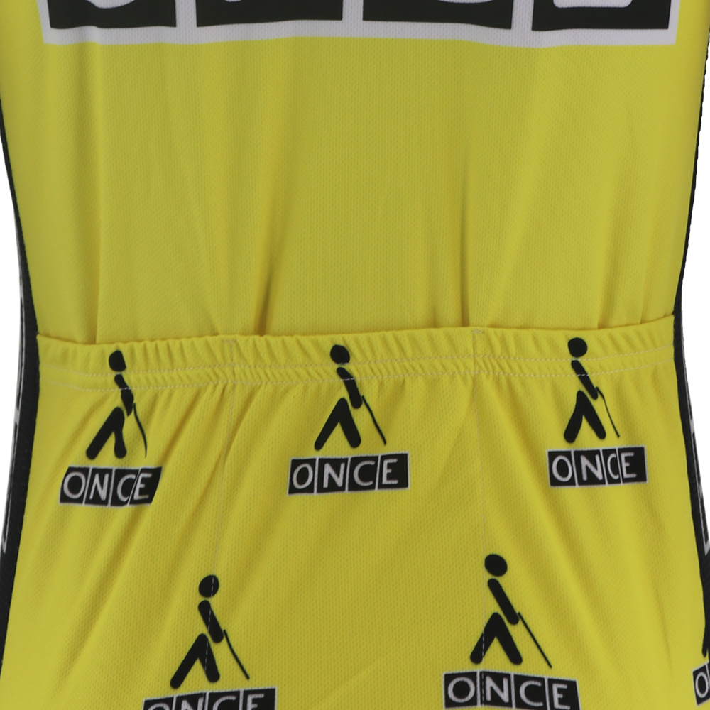 Image 5 - Custom cycling jersey retro men tops pro yellow black kits tour mtb road bike wear clothing Quick Dry Anti sweat 100% Polyester-in Cycling Jerseys from Sports & Entertainment