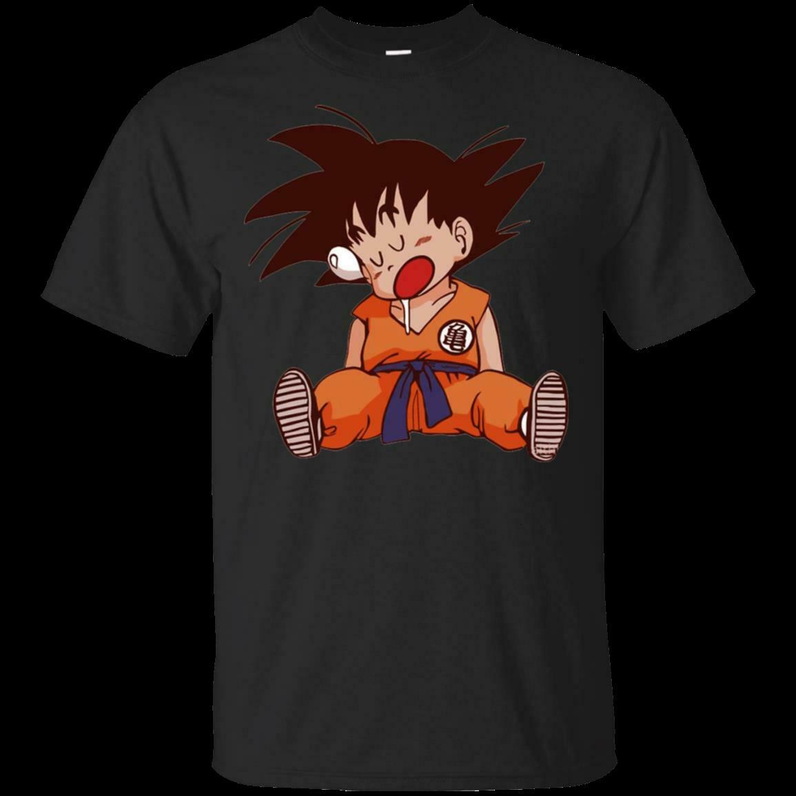 Funny Goku Kid <font><b>Dragon</b></font> <font><b>Ball</b></font> Z Saiyan Anime Japan <font><b>T</b></font> <font><b>shirt</b></font> Size Men's S-<font><b>5XL</b></font> image