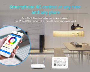 Image 3 - LED Mi.light RGB + White + Warm White + CCT Bulb Wireless Controller Wifi 4.0 IBOX 2 Compatible Android / IOS APP