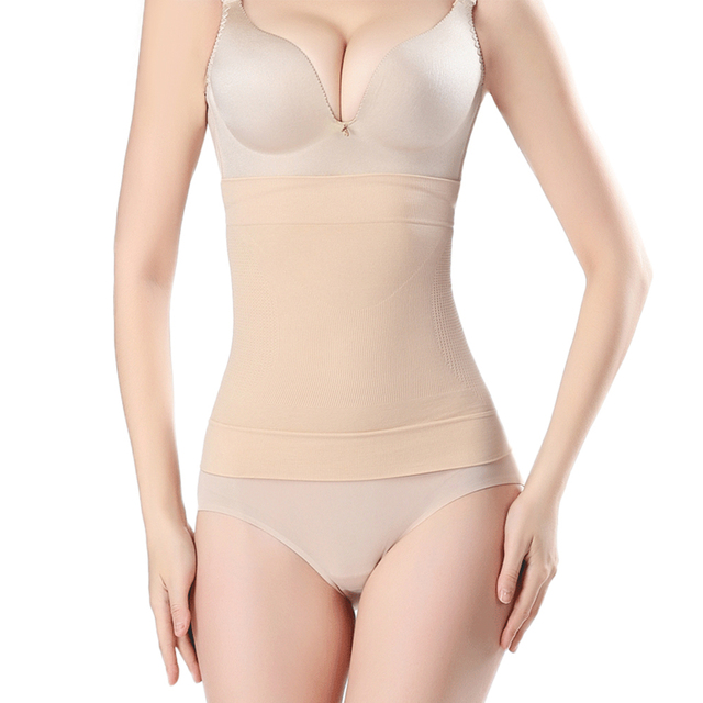 Women Body Shaper Corset Tummy Trimmer Waist Trainer Shapewear Girdle Belt Seamless Breathable Slimming Body Shaper 1
