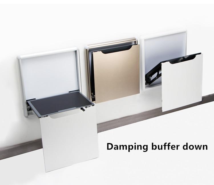 Hidden Shoe Changing Stool Wall Folding Stool Shoe Cabinet Wall Hanging Porch Chair Bathroom Wearing Shoe Stool