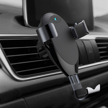 10W Car Phone Charger Support Wireless Charging Holder Bracket for Smartphone GV99