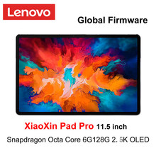 Globalne oprogramowanie Lenovo XiaoXin Pad Pro Snapdragon Octa Core 6GB RAM 128GB 11.5 cal 2.5K ekran OLED lenovo Tablet Android 10
