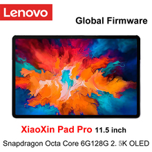 Global Ffirmware Lenovo XiaoXin Pad Pro Snapdragon Octa Core 6GB RAM 128GB 11.5 pollici 2.5K schermo OLED Tablet lenovo Android 10