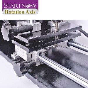 Image 5 - Startnow eixo rotaion gravura acessório com rodas rolos 2 & 3 fase motores de passo para co2 máquina de corte de gravura a laser