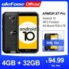 Ulefone Armor X7 Pro Android10 прочный телефон 4 Гб ОЗУ смартфон водонепроницаемый мобильный телефон ip68 NFC 4G LTE 2,4G/5G WLAN