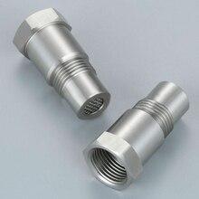 2 шт. CEL кислородный датчик, адаптер, мини-каталитический преобразователь с фильтром, получите после модификации выхлопа