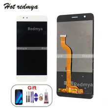 цена на LCD Display For Huawei Honor 8 FRD-L19 FRD-L09 Touch Screen Digitizer For Honor 8 Honor8 LCD Screen With Tools