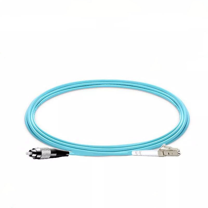 5PCS/lot FC/UPC -LC/UPC OM3 Fiber Optic Patch Cord 10G 50/125 Fiber Cable Multimode Simplex Optical Jumper