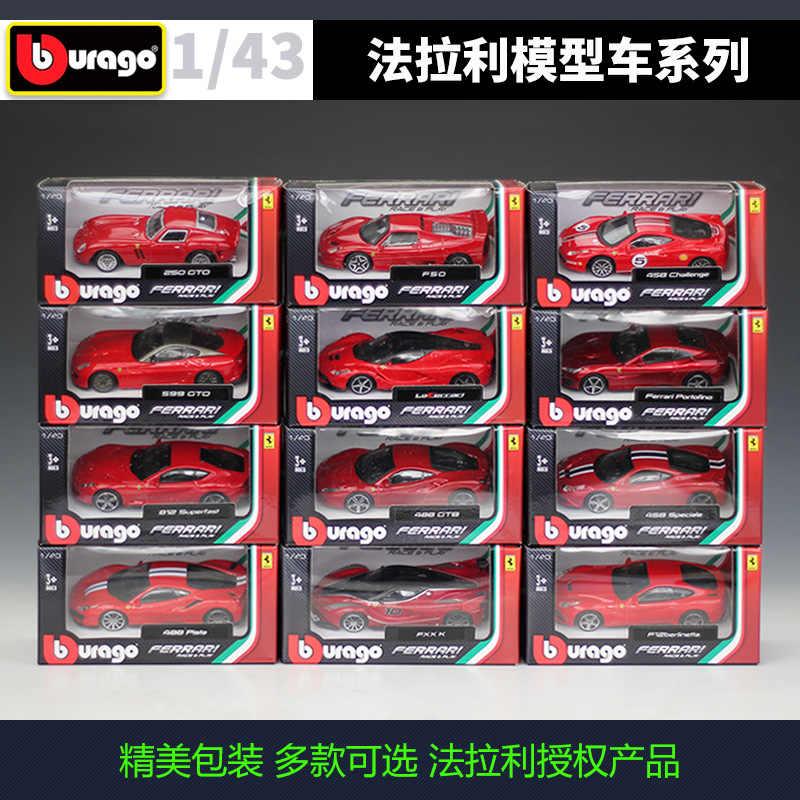 Race /& Play Serie Maßstab 1:43 NEU!° Bburago 36120 Ferrari 812 Superfast rot