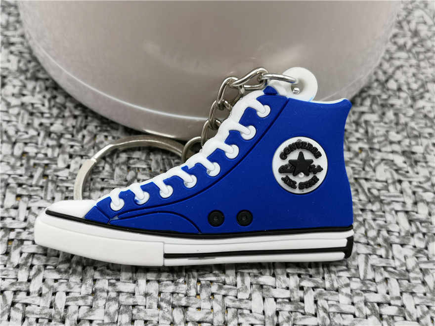 Mignon porte-clés Mini chaussure porte-clés femme hommes enfants cadeau nouveauté mode porte-clés basket-ball Sneaker Porte Clef