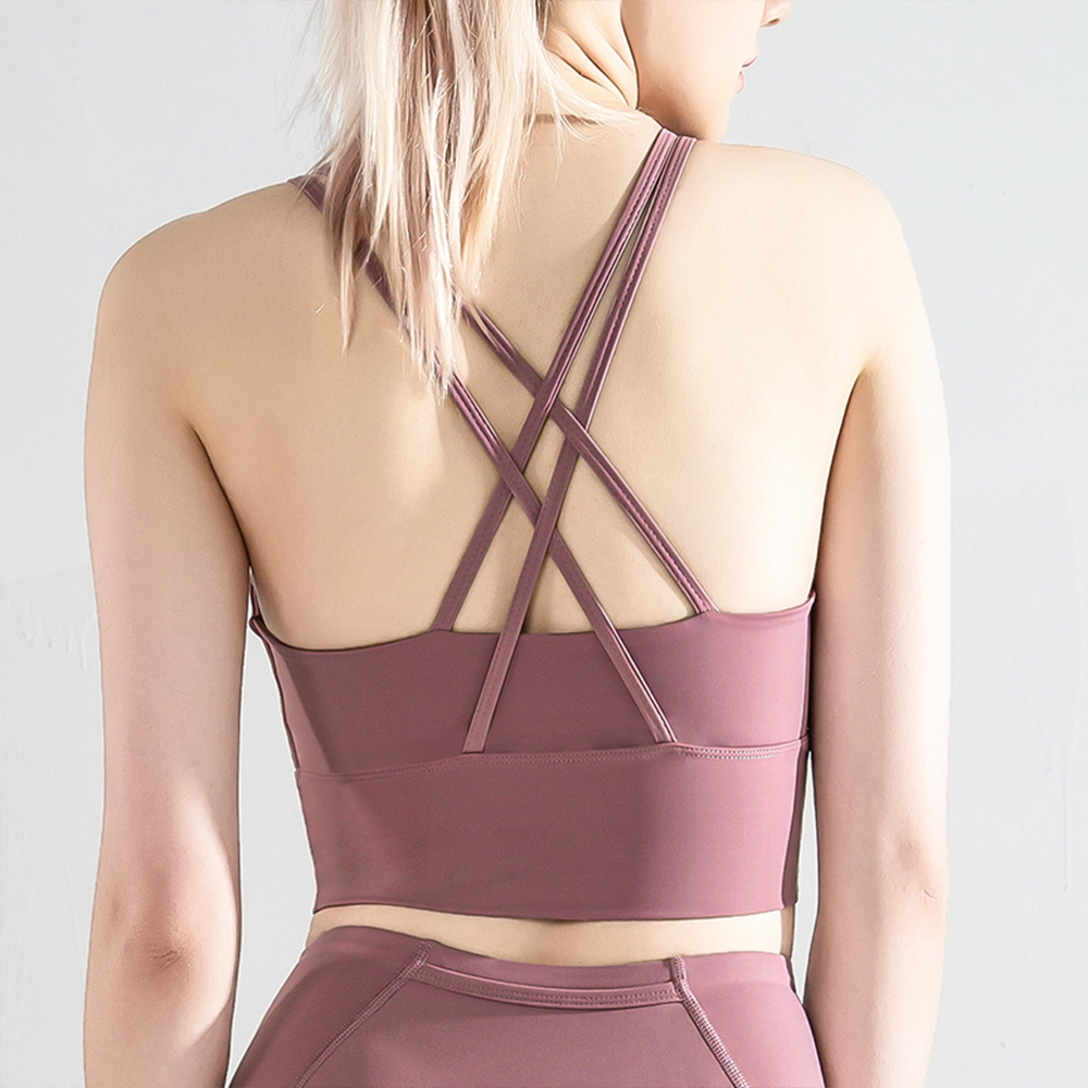 Sports Bra bra Bralette Crop Tops Women Yoga Gym Active Running Athletic Push Up Walking Pad Wear Tank Tube Top Underwear
