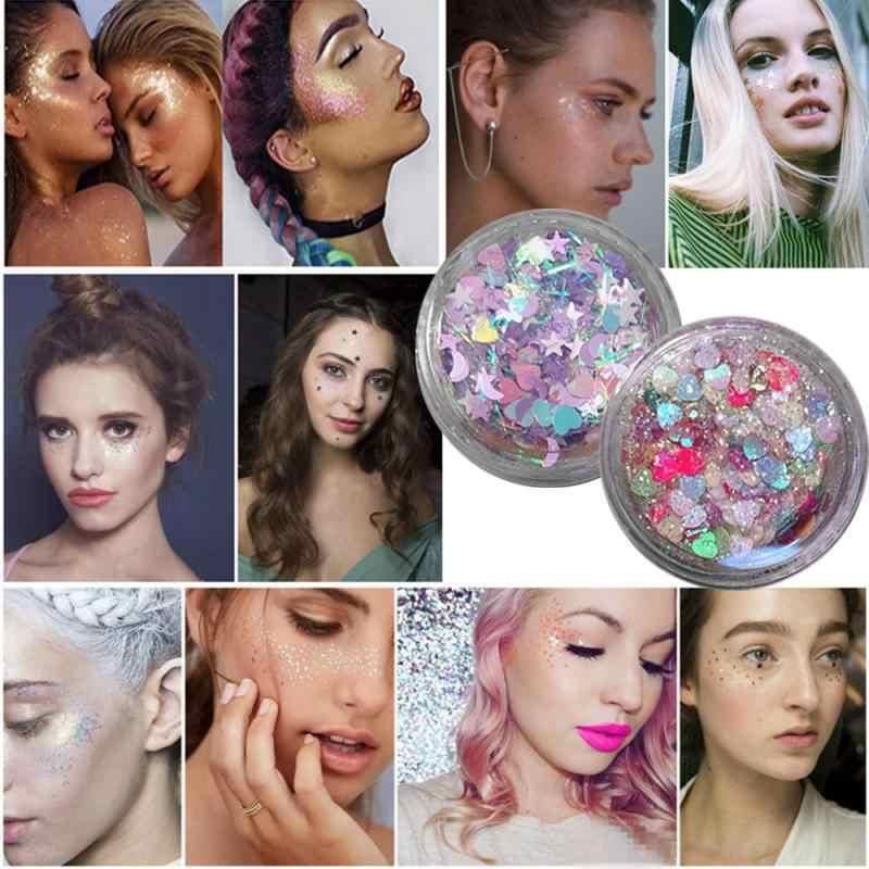 2019 nouveau hybride paillettes 20 couleur paillettes fard à paupières palette visage corps ombre beauté brillant maquillage poudre fête coamétique TSLM2