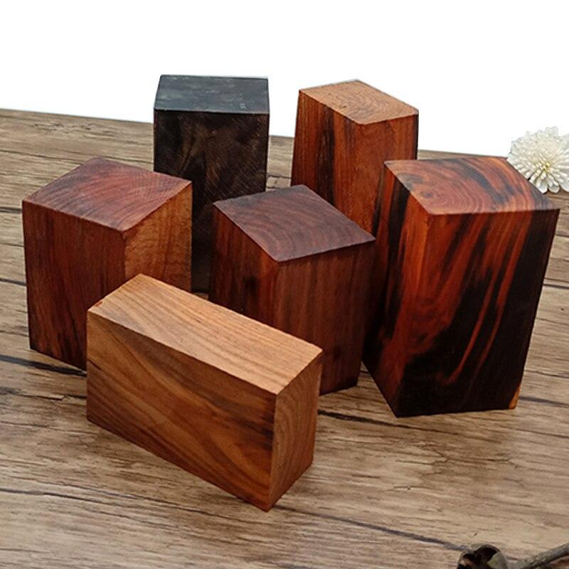 HQ T4 Siam Rosewood DIY Material Wood Timber Log Block Wood Lumber Lump Cinnabar Wood Carving