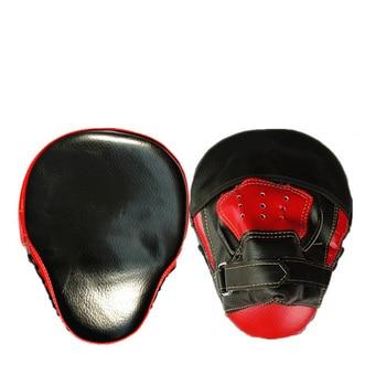 Quality Hand Target Martial Thai Kick Pad Kit Black Karate Training Mitt Focus Punch Pads Sparring Boxing Bags