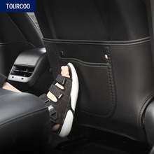 For Tesla Model 3 Y Seat Anti-kick Pad Cover Car Styling Modification Accessories 2pcs