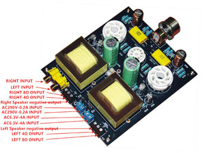 Image 5 - Hi Fi ステレオ 6N1/6N2 + 6P3P シングルエンドクラスオーディオチューブアンプボードバルブアンプボード DIY キット