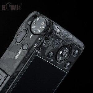 Image 5 - Kiwi Anti kras Camera Body Skin Beschermende Film Kit Voor Ricoh GR III GRIII GR3 GR Mark III Camera 3M Stickers Shadow Zwart