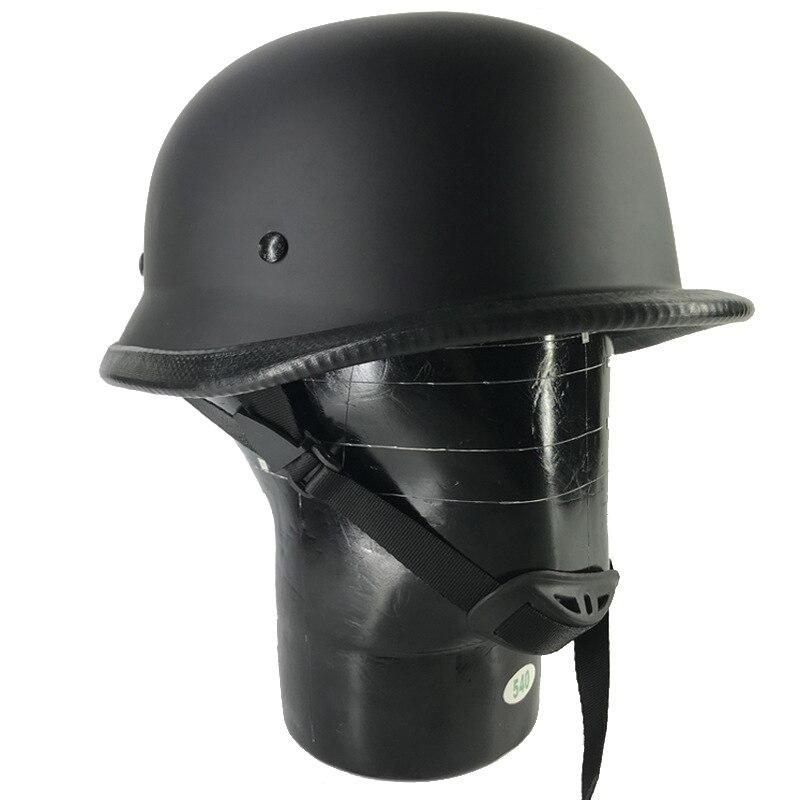 Motorcycle Half Face Vintage Helmet Hat Cap Men/Women Motorcross Moto Racing Capacete Sunscreen World War II German C3