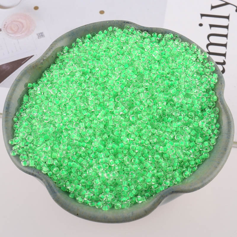 1100pcs 2MM Czech Glass Seed Beads Fashion Charm DIY Bracelet Necklace Jewelry Clothing Handmade Jewelry in Garment Beads from Home Garden