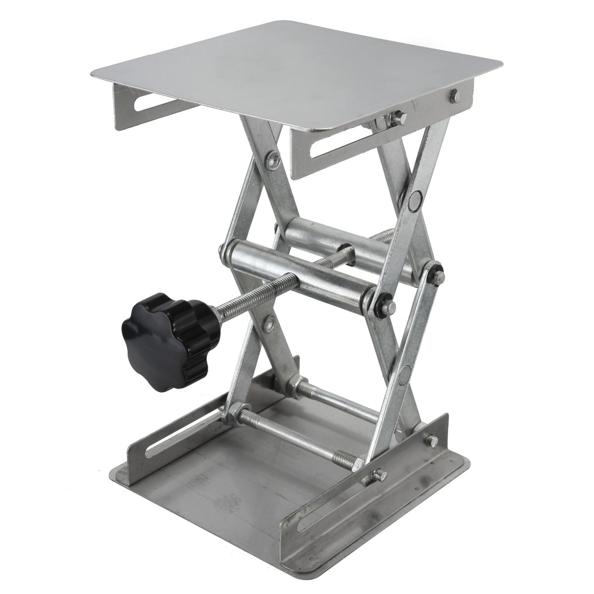 Adjustable Stainless Steel Laboratory Lab-Lift Lifting Platforms Jack Scissor Lift Platform / Foldable Lifting Table Pad