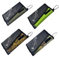 Fishing Soft Lure Bags Canvas Waterproof Sequin Jig Bag Bait Bag Tackle Bag