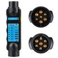 LEEPEE автомобиля тестер трейлера сигнальных огней проводов цепи диагностический инструмент 7 контактный разъем соединения теста для буксиро...