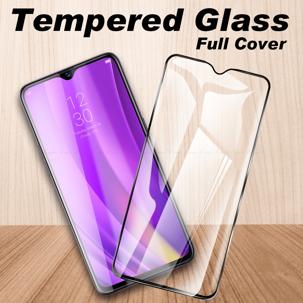 Protective Glass Screen Protector For OPPO Realme Narzo 10 10A X Lite C3 C2 C1 Tempered Glass Full Cover Glass Film