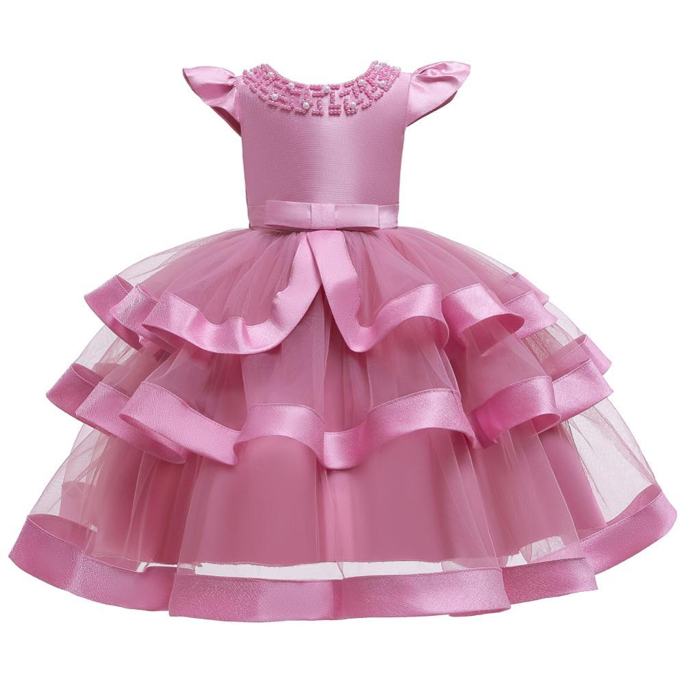 Girls Dress Elegant New Year Princess Children Party Dress Wedding Gown Kids Dresses for Girls Birthday Party Dress Vestido Wear 21