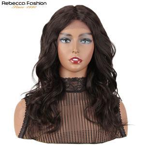 Pelucas de cabello humano de onda de encaje Frontal para mujer, peluca de cabello medio largo con encaje natural ondulado al agua, Onda de fantasía francesa rizada