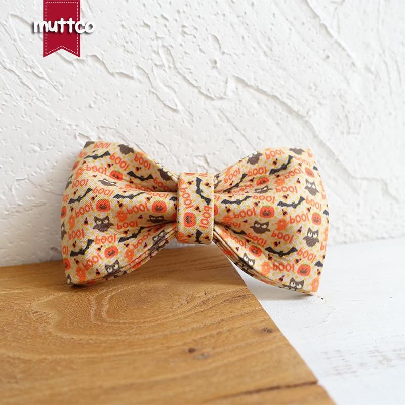 Muttco Dog Supplies Pet Bow Bow Tie Origional Entirely Handmade Teddy Bowtie Ubt-059