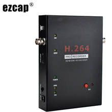 EZCAP286 Sdi Hdmi Audio Video Capture Card Game Recorder Opname Naar Usb Flash Hdd Sd-kaart, ondersteuning Live Streaming Voetschakelaar