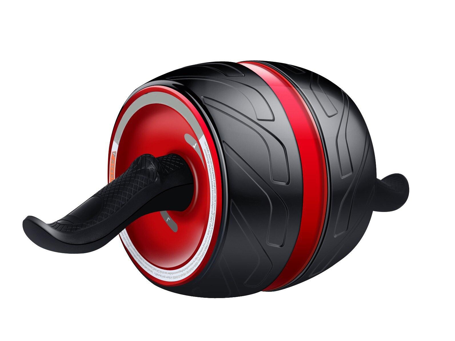 Equipo de Fitness equipo para ejercicio muscular Home Ab rodillos de una rueda Abdominal Power Wheel gimnasio rodillo Abs entrenamiento - 6