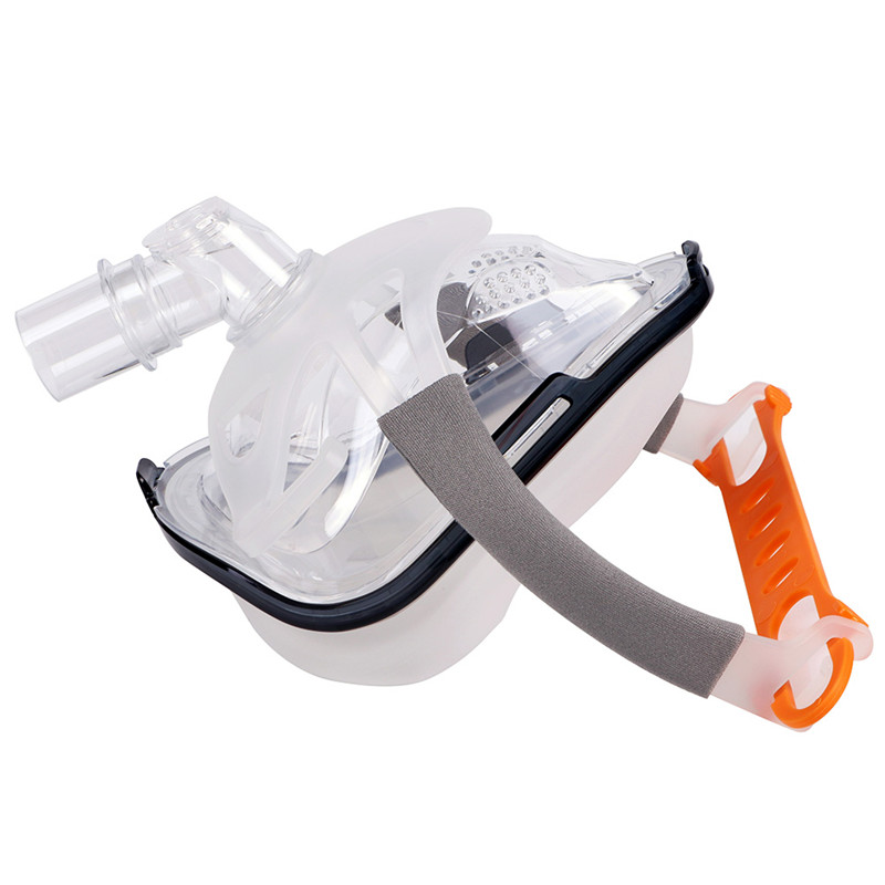 F1A Full Face CPAP Mask with Adjustable Headgear for Comfortable Respirator and Snoring Therapy 14