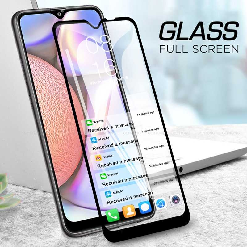 "HD Protective Film on the For Samsung A10S 6.2"" Tempered Glass Screen Protector For Samsung Galaxy A10 A 10 A105F Glass Film"