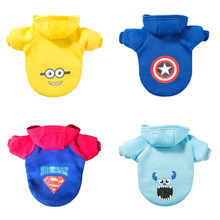Cartoon Dog Hoodie Pet-Dog-Clothes Clothing-For-Dogs Chihuahua Fashion Yorkshire Jacket