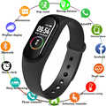 Sport Fitness Tracker M4 Smart Band Heart Rate Monitor Smart Bracelet Calories Waterproof IP67 Smartband Fashion Watch For iOS