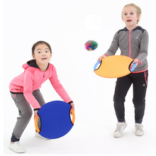 2Pcs Рука Throw Поймайте Бал Toss Открытый Игрушки Спортивные игры для взрослых Дети Дети активность Fun Сенсорная игра