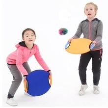 2pcs tiro de la mano de captura lanzamiento de la pelota al aire libre Juguetes Juegos de Deportes para la actividad Adultos Niños Kids Fun Juego sensorial
