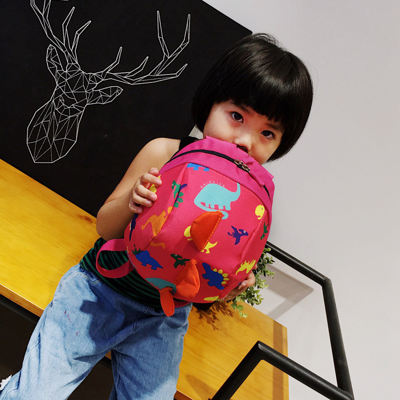 2020 New Style Cute Little Dinosaur CHILDREN'S School Bags Cartoon Kindergarten Backpack Young STUDENT'S Backpack