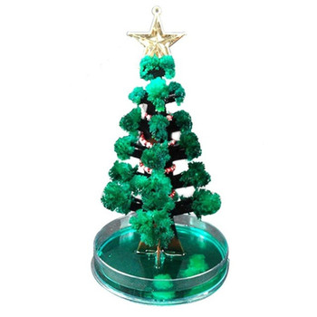 2021 magical crystal growing mystery tree children flowering paper tree birthday Christmas tree toy party supplies for Christmas image
